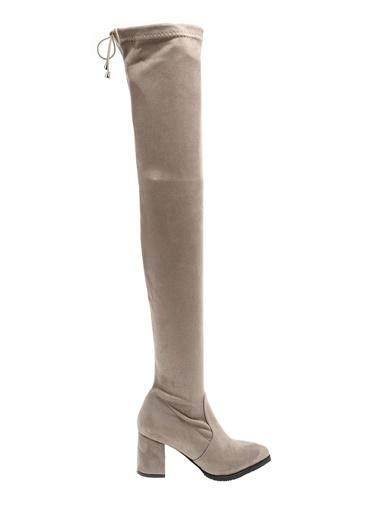 Derigo Vizon Kadın Çizme 41509 Vizon